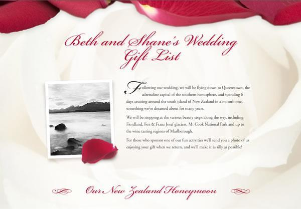 Honeymoon Funds And Wedding Gift Lists Buy Our Honeymoon
